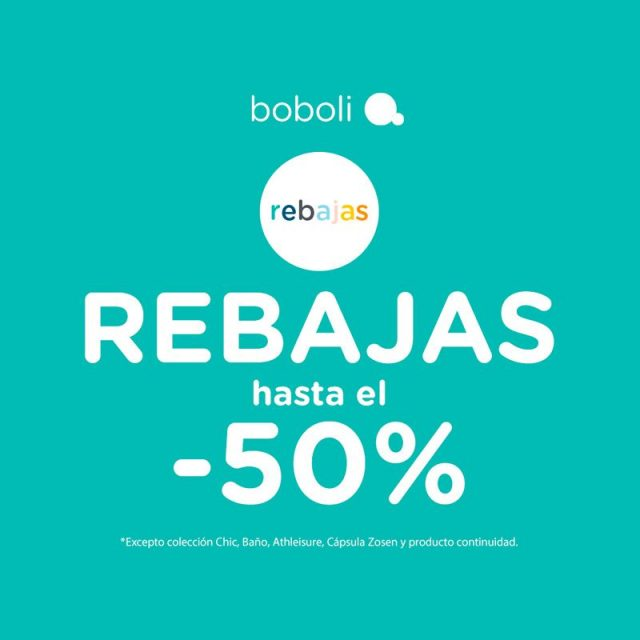 Hasta el -50% de descuento en Boboli