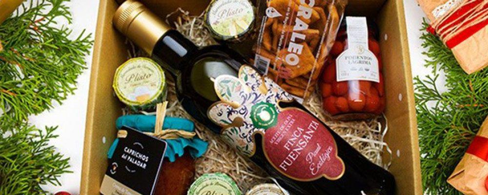 ¿Quieres felicitar la Navidad? El Estante de Murcia Alimenta te ayuda en tus cestas de Navidad