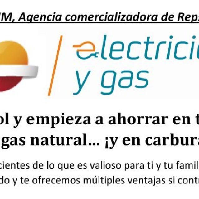 Gases GHM, Agencia comercializadora de Repsol E&G