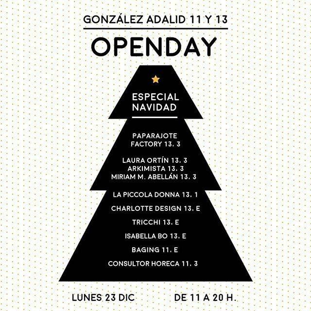 Openday en Murcia Centro de Negocios Especial Navidad